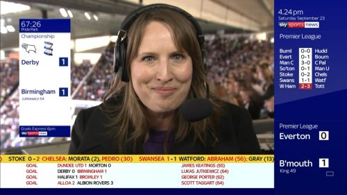 Faye Carruthers - Sky Sports Football Reporter
