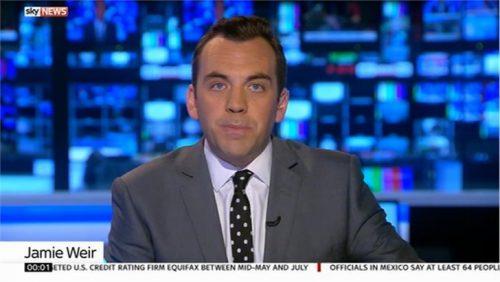 Jamie Weir Sky News Presenter (1)