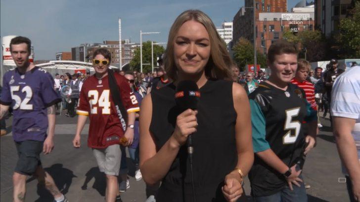 Laura Woods - Sky Sports NFL Reporter (1)