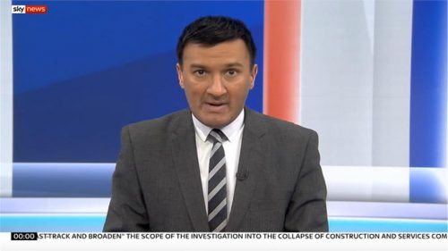 Nick Quraishi - Sky News Presenter