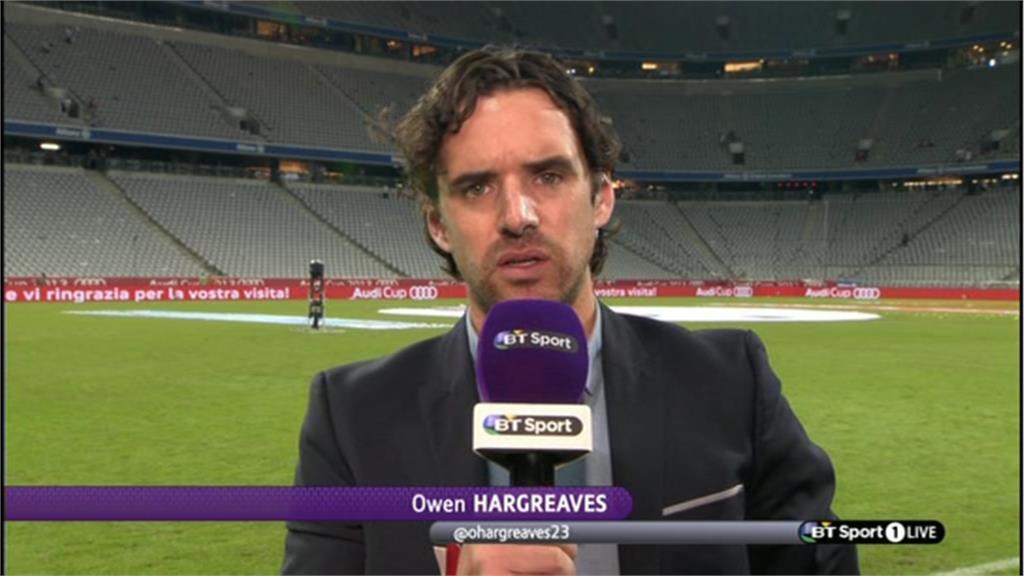 Owen Hargraves - BT Sport Football Commentator (2)