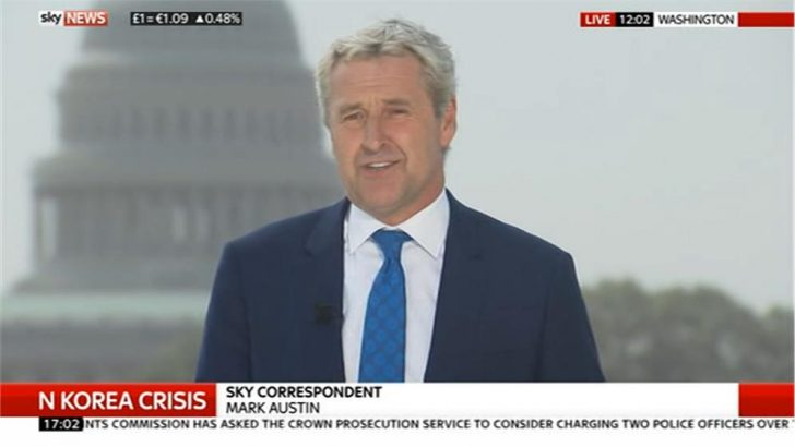 Mark Austin - Sky News