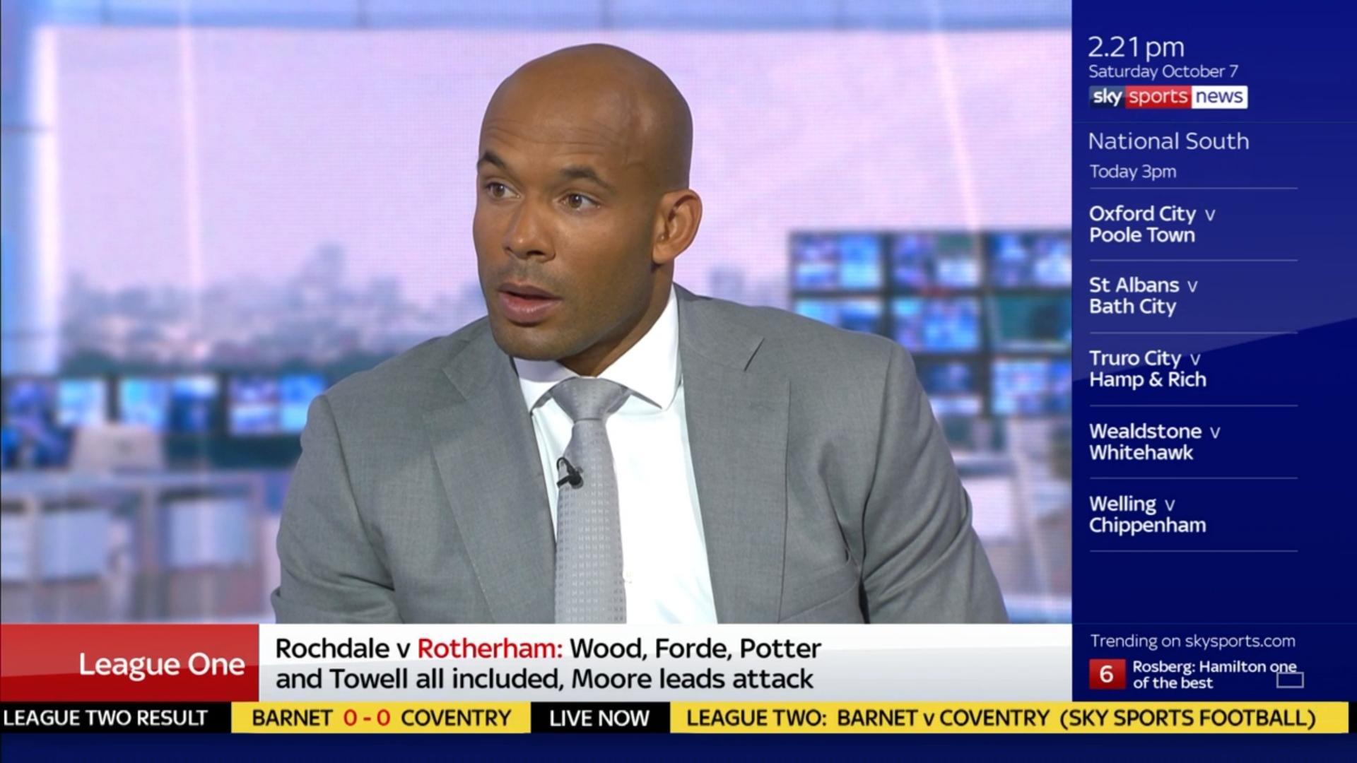 Matt Murray - Sky Sports Soccer Saturday (1)