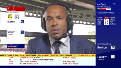 Matt Murray - Sky Sports Soccer Saturday (3)