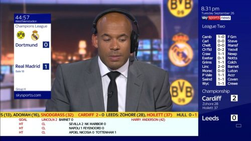 Matt Murray - Sky Sports Soccer Saturday (4)
