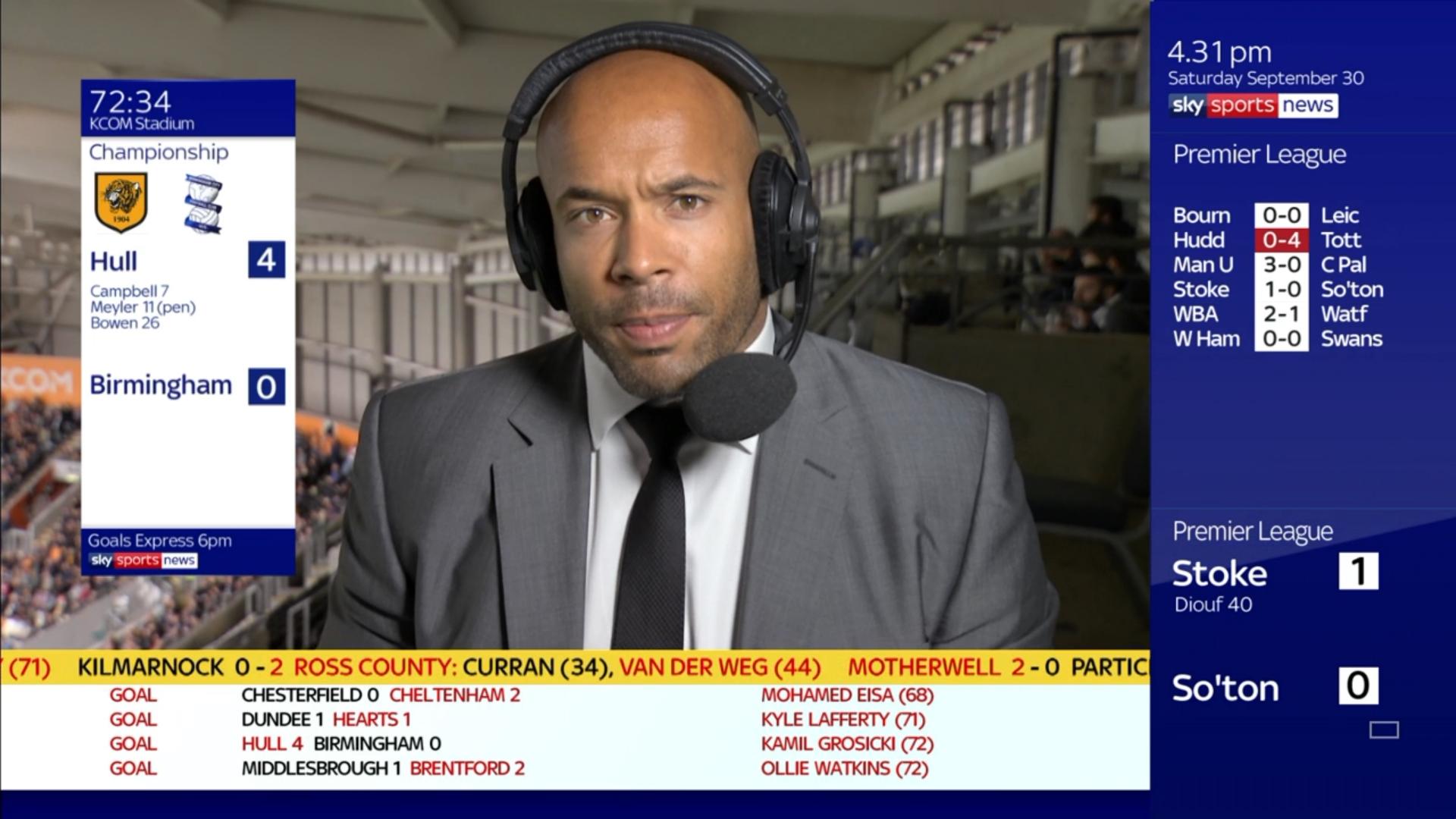 Matt Murray - Sky Sports Soccer Saturday (6)