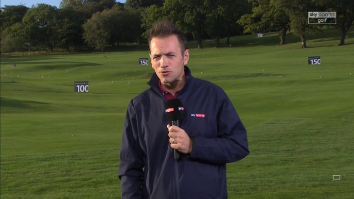 Nick Dougherty - Sky Sports Golf (1)