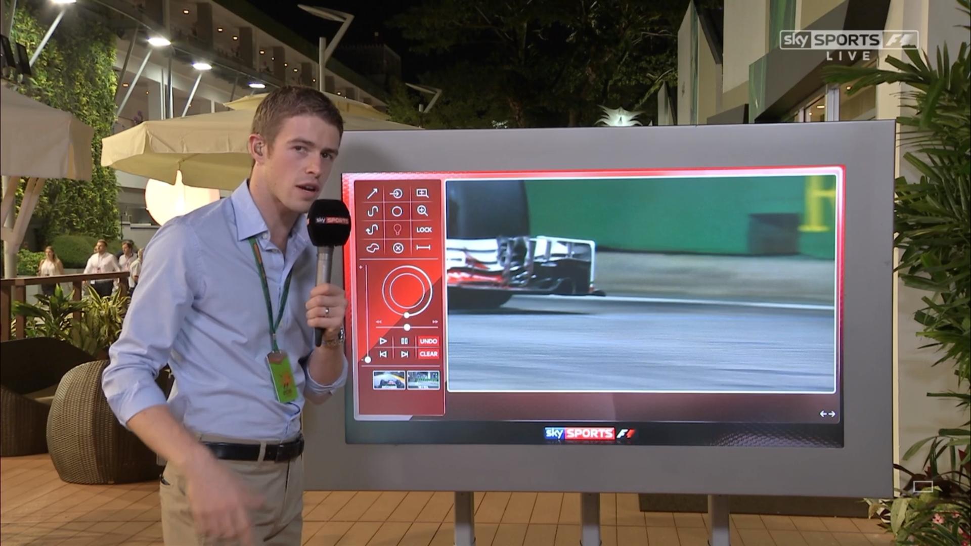 Paul Di Resta Sky Sports F1