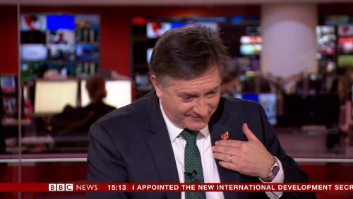 BBC NEWS HD Simon McCoy cough