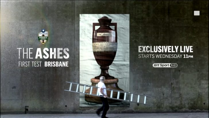 The Ashes 2017 2018 Live on BT Sport - First Test