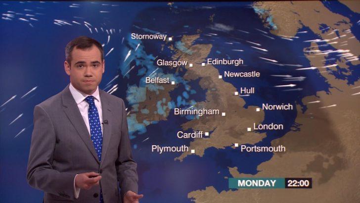 Ben Rich - BBC Weather Presenter (1)
