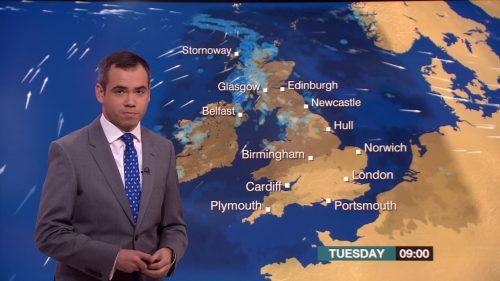 Ben Rich - BBC Weather Presenter (2)