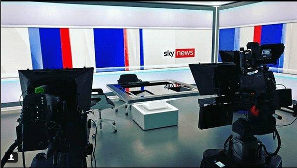 New Sky News Studio