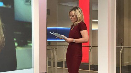 Sam Washington Rehearsing on Sky News