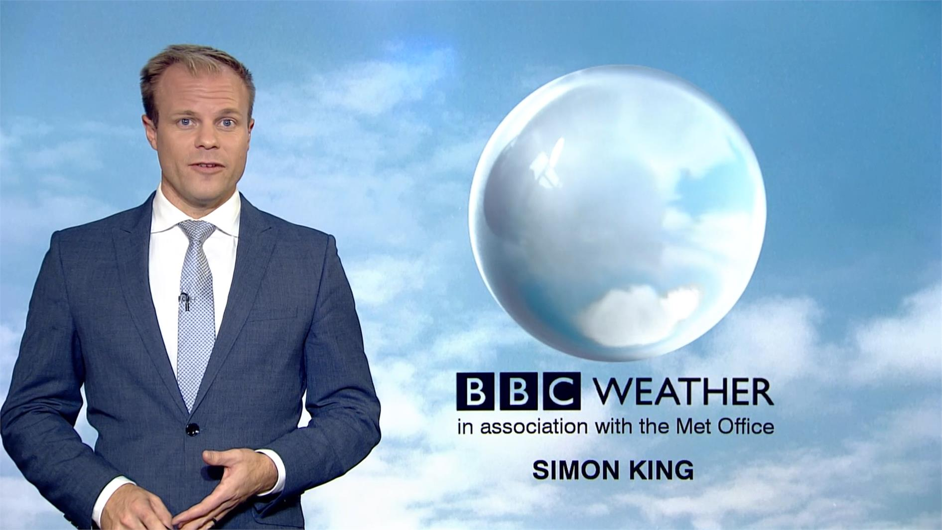 Simon King - BBC Weather Presenter (2)