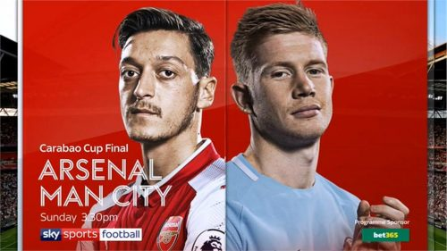 Carabao Cup Final 2018 - Live on Sky Sports - highligts on Channel 5