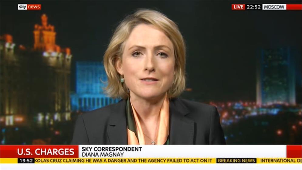 Diana Magney - Sky News Moscow Correspondent (2)