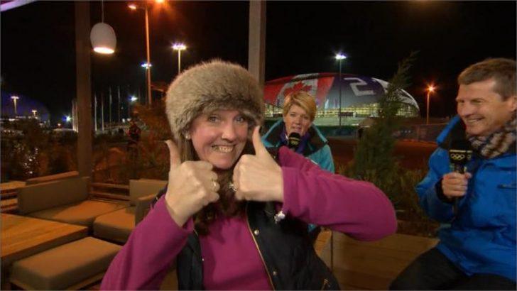 Jackie Lockhart - - BBC Olympics (1)