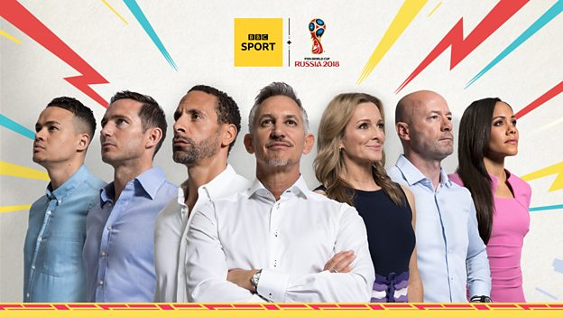 BBC Sport announces World Cup 2018 television coverage
