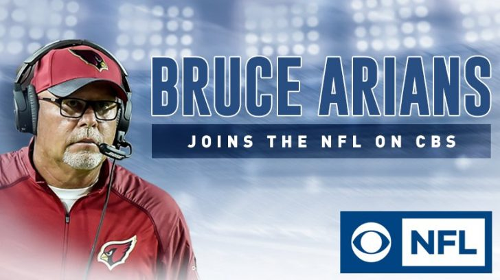 Bruce Arians to join CBS' NFL coverage for 2018 season
