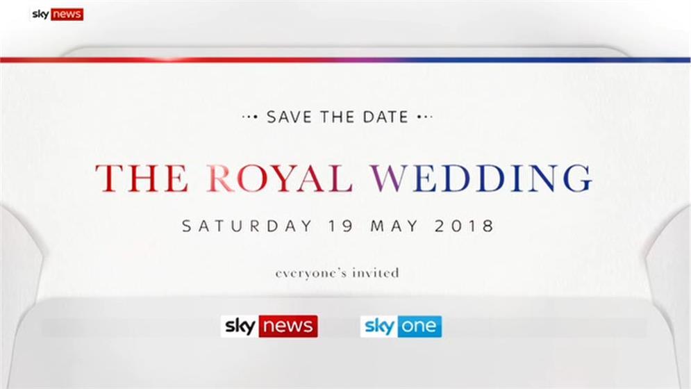 Royal Wedding – Everyone's Invited – Sky News Promo 2018