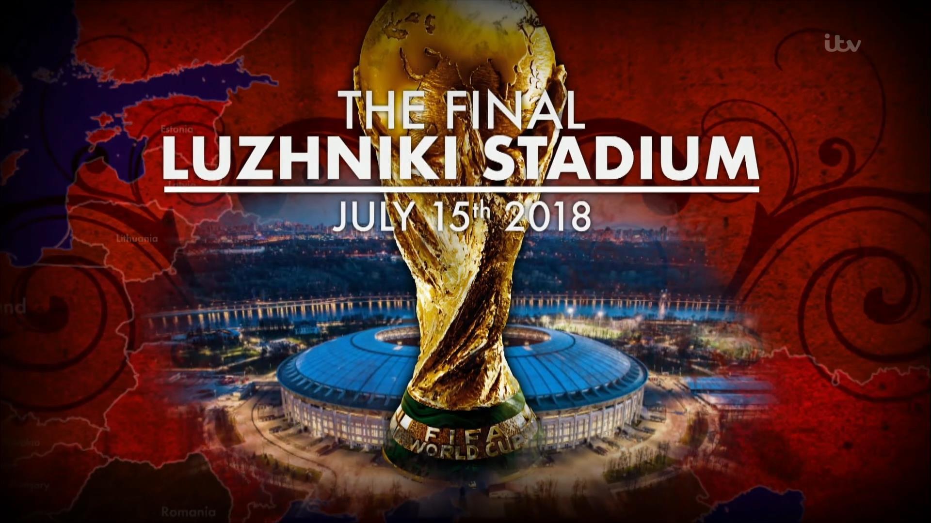 France v Croatia – World Cup 2018 Final – Live TV Coverage on BBC, ITV, BBC iPlayer, ITV Hub