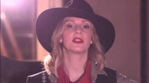 Cowgirl Kate McCann on BBC This Week (1)