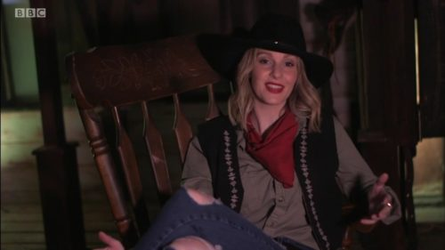 Cowgirl Kate McCann on BBC This Week (21)