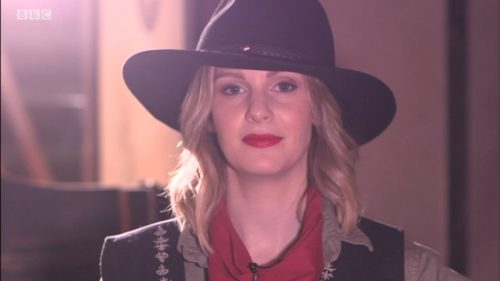 Cowgirl Kate McCann on BBC This Week (3)