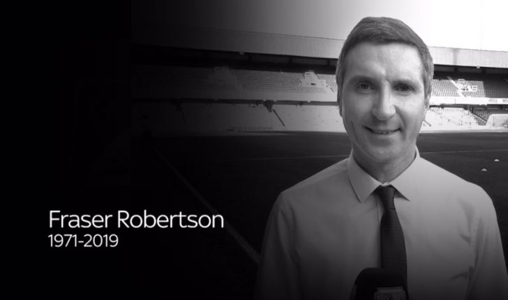 Sky Sports reporter Fraser Robertson dies at the age of 47
