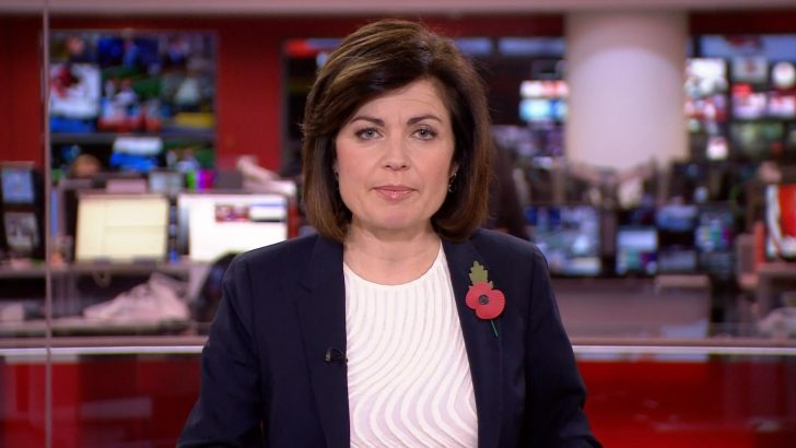 Jane Hill returns to BBC News following breast cancer treatment