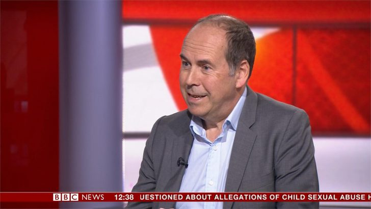 BBC News correspondent Rory Cellan-Jones reveals Parkinson's diagnosis
