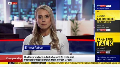 Emma Paton - Sky Sports News Presenter (2)