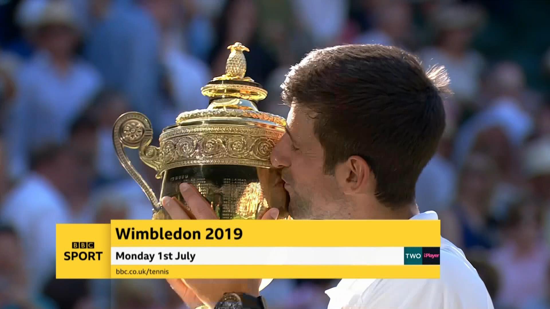 Wimbledon 2019 – Live TV Coverage on the BBC