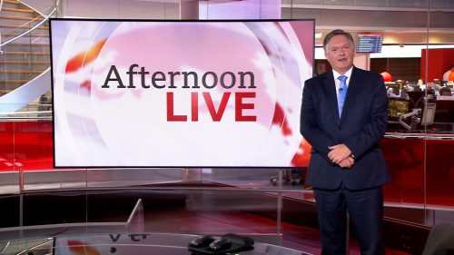 BBC News Presentation 2019 - Afternoon Live (3)