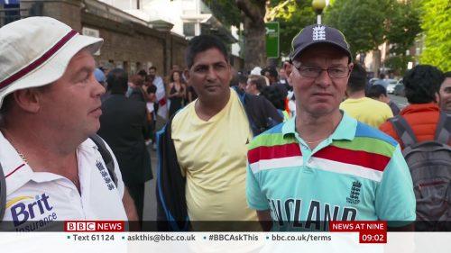 BBC News Presentation 2019 - News at Nine (13)