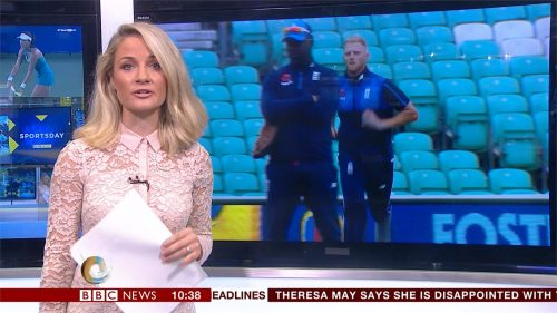 Holly Hamilton - BBC Sport Presenter (10)