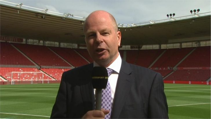 John Roder - BBC Match of the Day commentator (1)