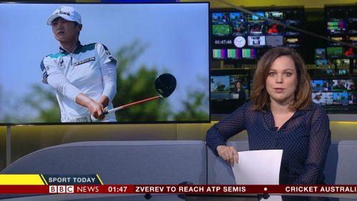 Sarah Mulkerrins - BBC Sport Presenter (2)