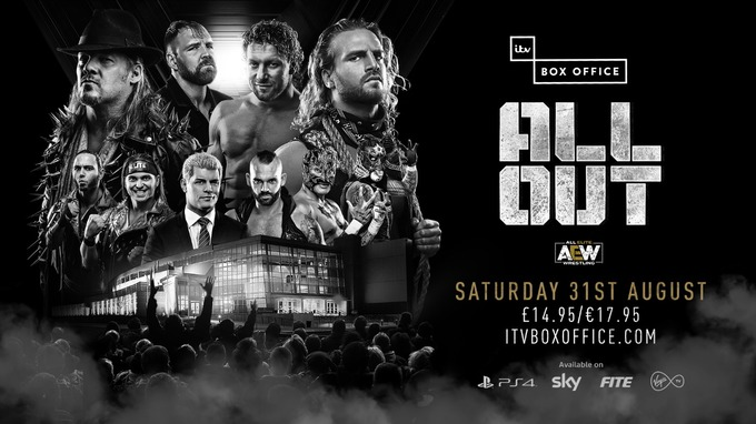 AEW All Out 2019 – Live on ITV Box Office