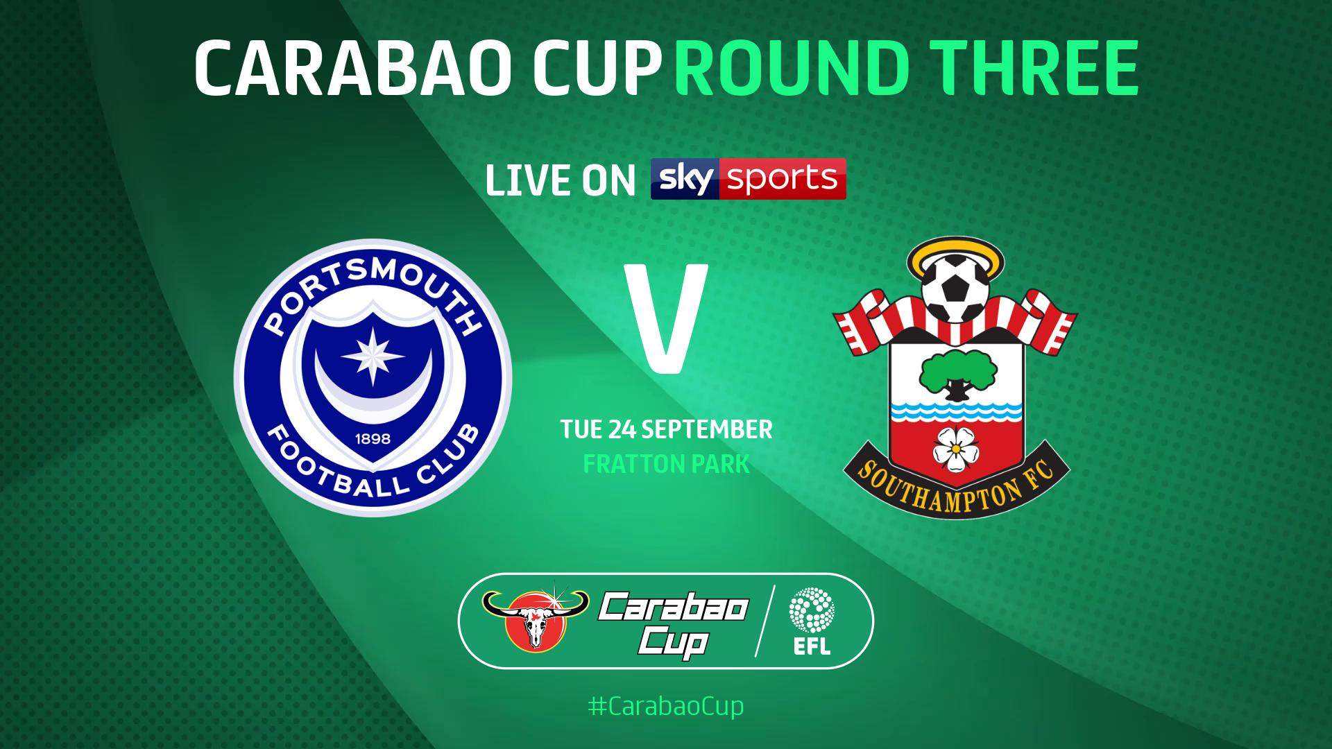 Sky Sports Announce Carabao Cup 2019/20 Third Round Ties
