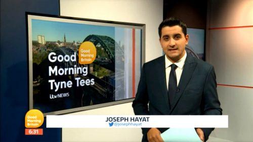 Joseph Hayat - ITV Regional News presenter (2)