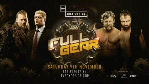 AEW Full Gear 2019 - FITE TV and ITV Box Office