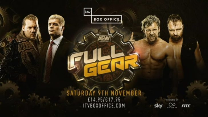 AEW Full Gear 2019 – Live TV Coverage on ITV Box Office & FITE TV