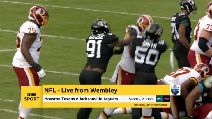Texans @ Jaguars – NFL International Series 2019 – Live TV Coverage on BBC Two