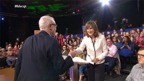 General Election 2019 - BBC Question Time - Leaders (15)