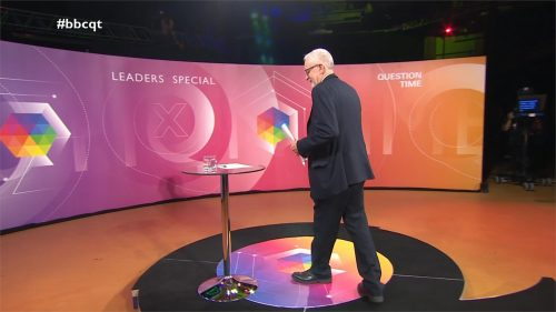 General Election 2019 - BBC Question Time - Leaders (16)