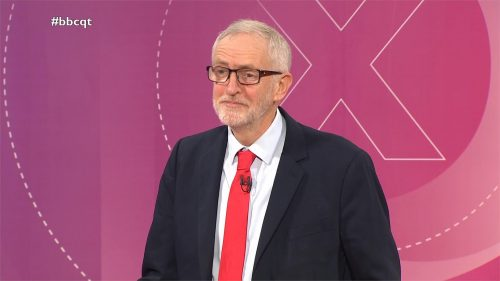 General Election 2019 - BBC Question Time - Leaders (18)