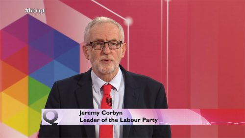General Election 2019 - BBC Question Time - Leaders (25)