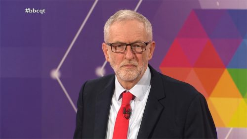 General Election 2019 - BBC Question Time - Leaders (28)